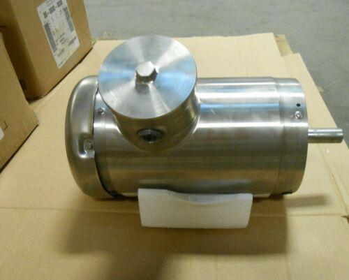 NEW BALDOR ABB 35-0000-0008 STAINLESS STEEL WASHDOWN MOTOR 3/4 HP 480V (2 AVAIL)