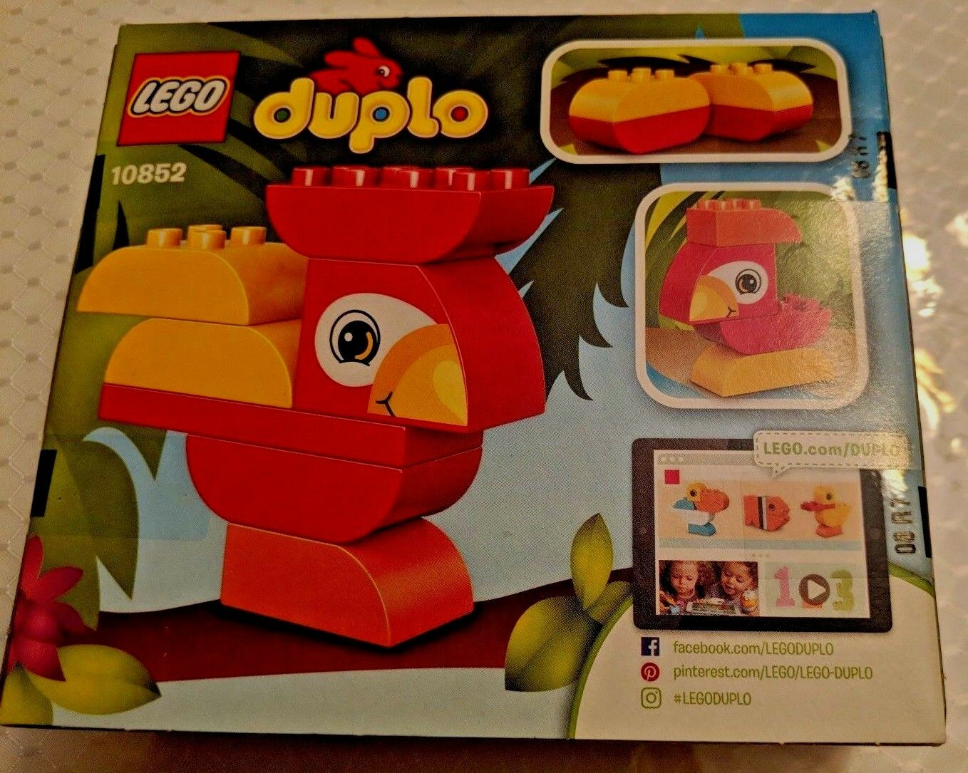 New Lego Duplo Set #10852  My First Bird Ages 1 1/2- 3 Years
