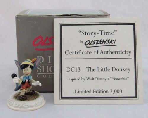"Disney Showcase Story Time by Olszewski ""The Little Donkey"" Pinocchio"