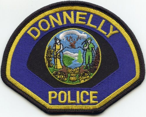 DONNELLY IDAHO ID POLICE PATCH