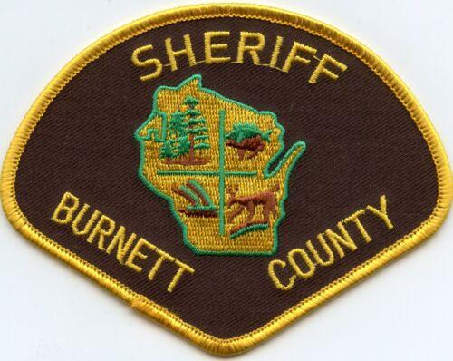 BURNETT COUNTY WISCONSIN WI SHERIFF POLICE PATCH