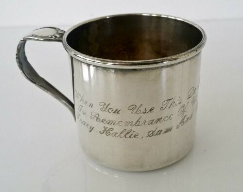 Vintage Community Silver Plate Baby Cup