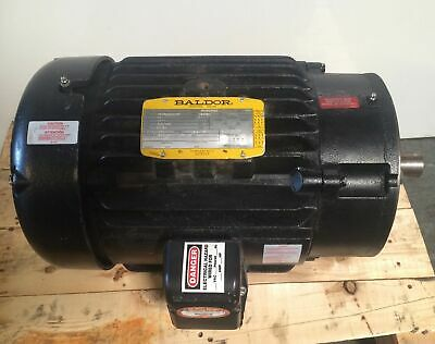 Baldor 20hp Electric Motor 3525 Rpm 230 460 Volts Frame 284tsc