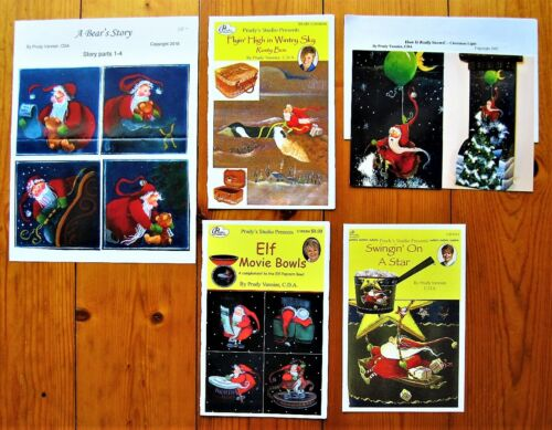 Prudy Vannier Painting Pattern Packets Elf Elves - Unused  (YOUR CHOICE)