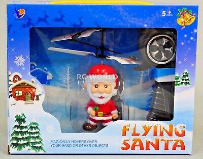 Hélicoptère Rc Noël Jouet Volant Père St. Nick W / Contrôleur avec / Lumières