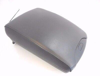 00-06 BMW X5 Center Console Arm Rest Armrest Lid & Wiring OEM Black Leather