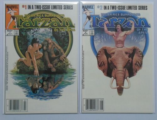 Tarzan of the Apes (Marvel) Set:#1+2, 8.0/VF (1984)