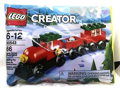 LEGO 30543 LEGO CREATOR HOLIDAY CHRISTMAS TRAIN (66PCS) LEGO POLYBAG - NEW