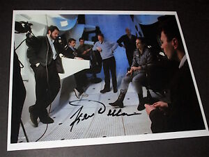 KEIR DULLEA   / 2001 A SPACE ODYSSEY  /  BEHIND THE SCENE /  SIGNED  COLOR PHOTO