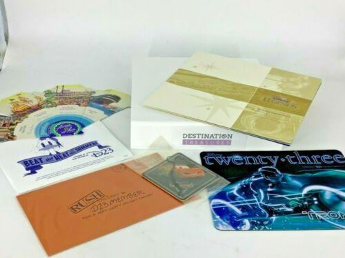D23 Disney Club Early Years Membership Items Fan Tron Legends Program Car Fresh+