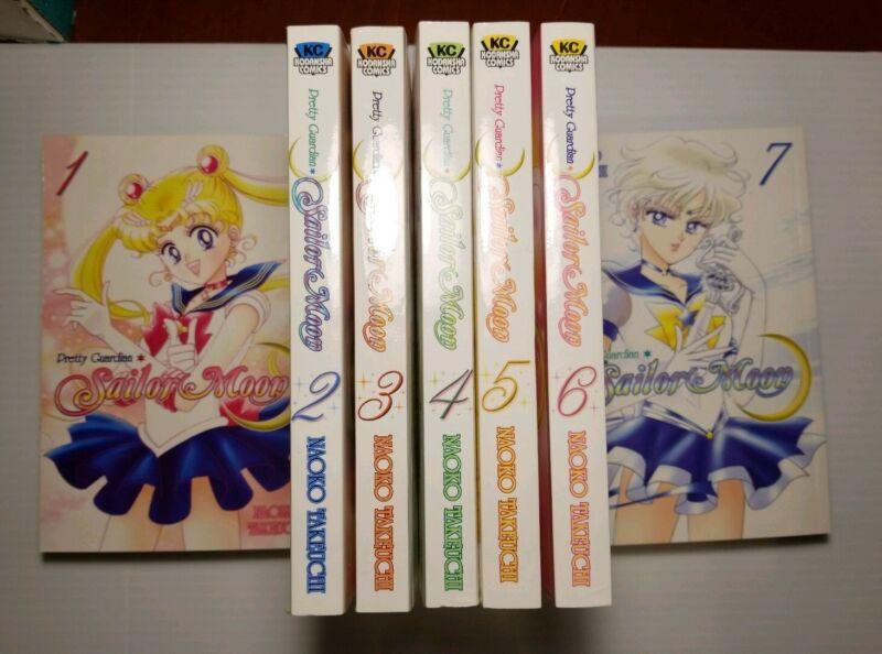 Kodansha Comics Pretty Guardian Sailor Moon Volumes 1-7 by Naoko Takeuchi