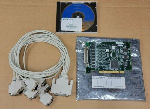 NI PCI-8430/8 RS-232 8-Port Board 191880A-01 w/ Cables & Software