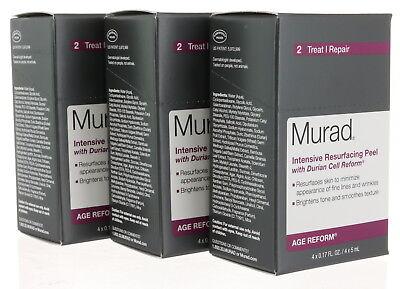 3 box - Murad Age Reform Intensive Resurfacing Peel 4ct Each Box (Total 12ct)
