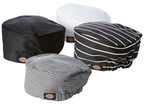 3PACK Dickies Chef Hat - Chef Beanie with Elastic on Back DC451