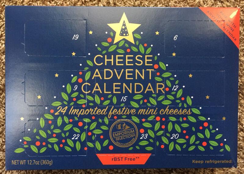 Aldi Cheese Advent Calendar Countdown 24 Days To Christmas New 2020