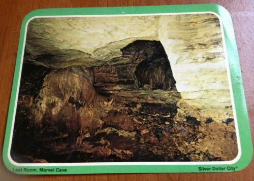Vintage Silver Dollar City Last Room Marvel Cave Postcard~UNUSED~1960