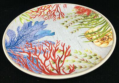 1 Dinner Plate Tropical Melamine Outdoor Better Homes Gardens Sea Plants