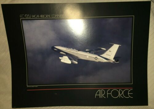 "EC-135J PACAF AIRBORNE COMMAND POST Print Air Force 23"" x 17"" US Military Poster"