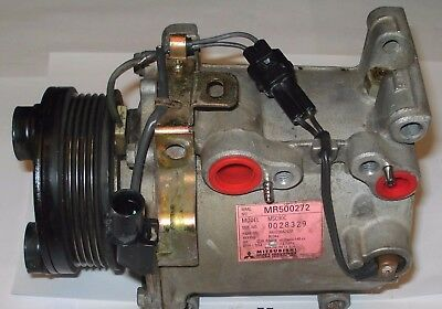 00-03 MITSUBISHI GALANT ECLIPSE A/C COMPRESSOR 02-07 LANCER 98-2 MIRAGE 4 CYL AC for sale  Wesley Chapel