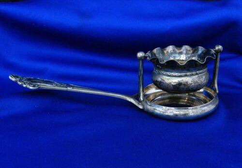 old , Tea Infuser w/ Stand , Handle , Tray  Portuguese 833 Silver Porto