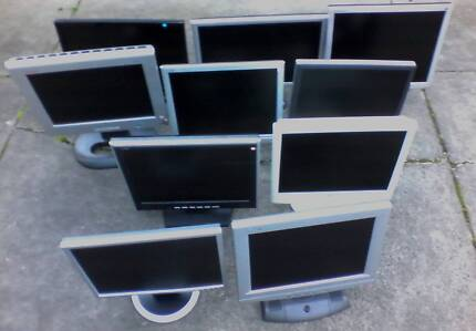 """Computer Monitors and LCD LED TV, 14"""" 15"""" 16"""" 17"""" 19"""" 22"""" inch"""