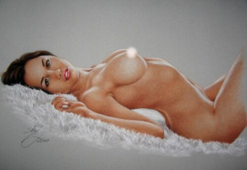PRINT OF THE ORIGINAL *** PIN UP ART by SLY *** DRAWING # 9314