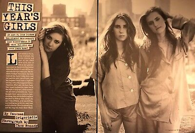 Lena Dunham  Zosia Mamet  Allison Williams 4Pg Rolling Stone Feature  Clippings