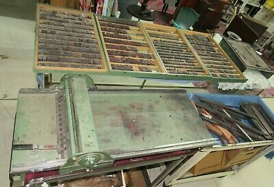 Antique Morgan Sign Line O Scribe Printing Press Wwood Metal Letters 1950s