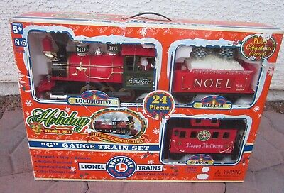 Lionel Holiday Special Christmas G Gauge Train Set - Plays Christmas Music - NEW