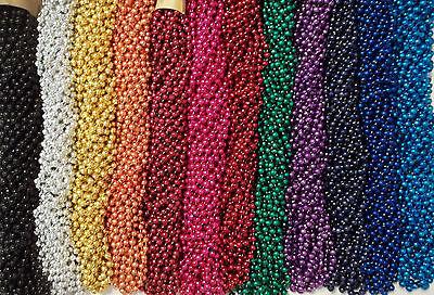 72 Choice Mardi Gras Beads Birthday Wedding Carnival Party Favor Necklaces 6 Doz](Mardi Gras Birthday)