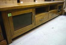 New Large Timber Lowline TV Entertainment Unit 2 Drawers Storage Melbourne CBD Melbourne City Preview