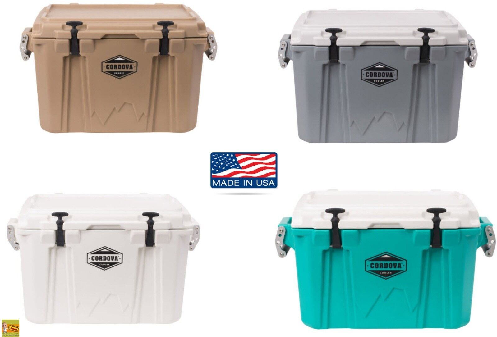 Portable Hard Cooler Ice Chest Box Boxes Beer Can Drink Beve