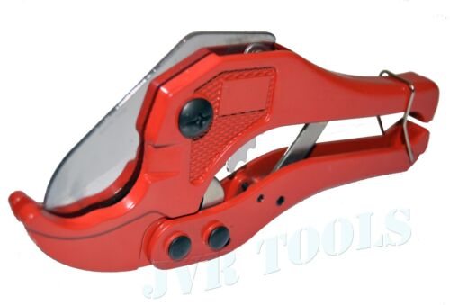"""PVC Pipe Cutter Tubing Hose Ratcheting Cut Action Type Cuts 1-5/8"""" Tube Cutter"""