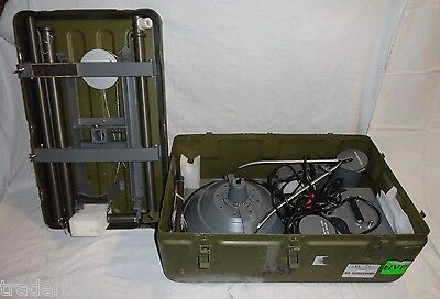 Light Surgical Field Portable Dual Power Source 110v 24v Sfl-2204 Military