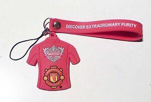 SMIRNOFF-VODKA-Red-Football-Shirt-Lanyard-MANCHESTER-UNITED-EPL-from-SINGAPORE