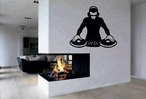 DJ-Wall-Sticker-Vinyl-Wall-Art-Giant-transfer-decals-graphics-big-picture-music