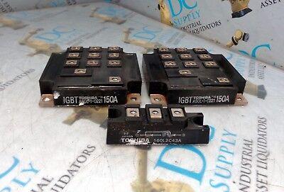 Toshiba Igbt Fanuc A50l-1-0221 160l2c43a Transistor Lot Of 3