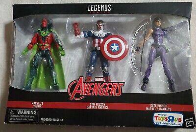 Marvel Legends Avengers Toys R Us Vision Sam wilsom Captain America kate bishop