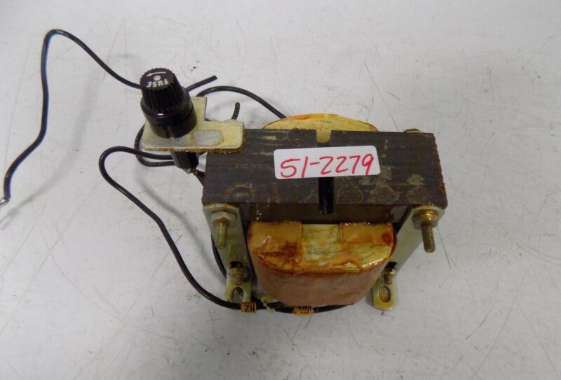GENERAL ELECTRIC CONTROL TRANSFORMER 44A294452-G03