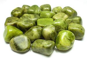 TUMBLED - (1) MED/LG IDOCRASE (VESUVIANITE) Crystal w/Description -Healing Stone