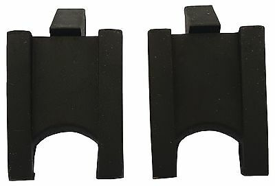 """ACCLAIM Wedges 2 Set Bowlers Solid Rubber Two Sided Cut Out & Angled 2.5"""" x 1.5"""""""
