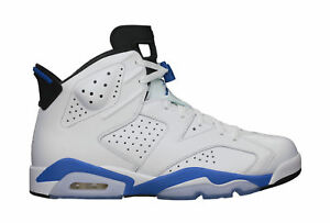 promo code f214a 2f85b NWOB 2014 Nike Air Jordan 6 VI Retro White Sport Blue Black Mens 13 ...