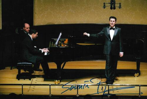 Saimir Pirgu Opera signed 8x12 inch photo autograph