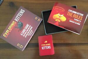 Exploding Kittens Game NEW