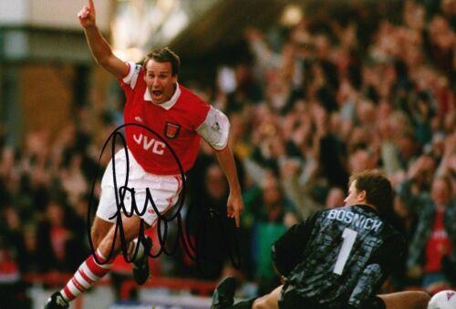 c33cb1f4a3e Paul MERSON Signed 12X8 Photo Genuine Autograph Arsenal F.C. AFTAL COA  (1691)