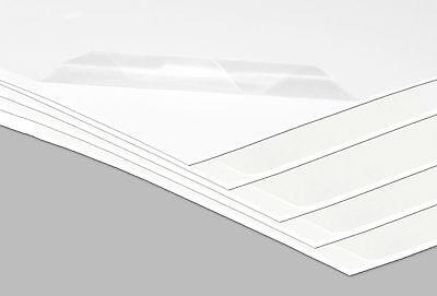 Kunststoffplatten Hart PVC Platte Kunststoff 1960 x 730 x 2 mm weiß