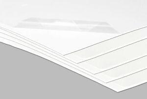 Kunststoffplatte Hart PVC Platte Kunststoff 1960 x 730 x 2 mm weiß