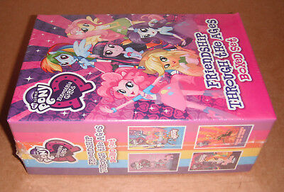 My Little Pony Friendship Through the Ages Set by Hasbro (2015, Hardcover) NEW
