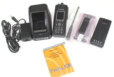 Thales Prc-7332 Liberty Multiband Vhf Uhf 700 800mhz P25 Fpp Great Cond.