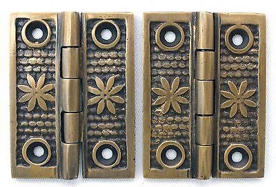 Vintage Shutter Hinge Cabinet Victorian Style Hinges Set of 2